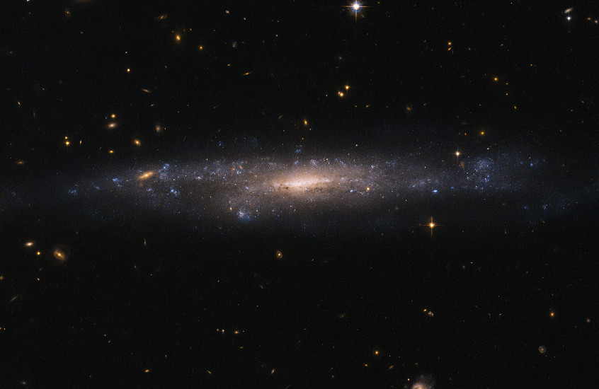 Our doctrine is not a galaxy hiding in the night sky